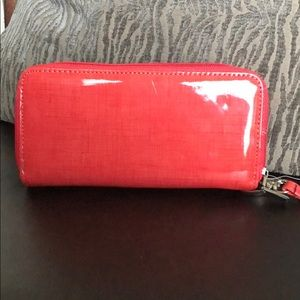 Accessories - Coral Wallet Wristlet